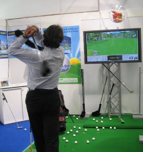 Golf-Simulation