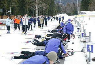 Winter-Biathlon